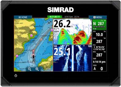 the simrad® xse range is a powerful, full-featured standalone, Fish Finder